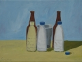 Still Life, inspired by Morandi, acrylic
