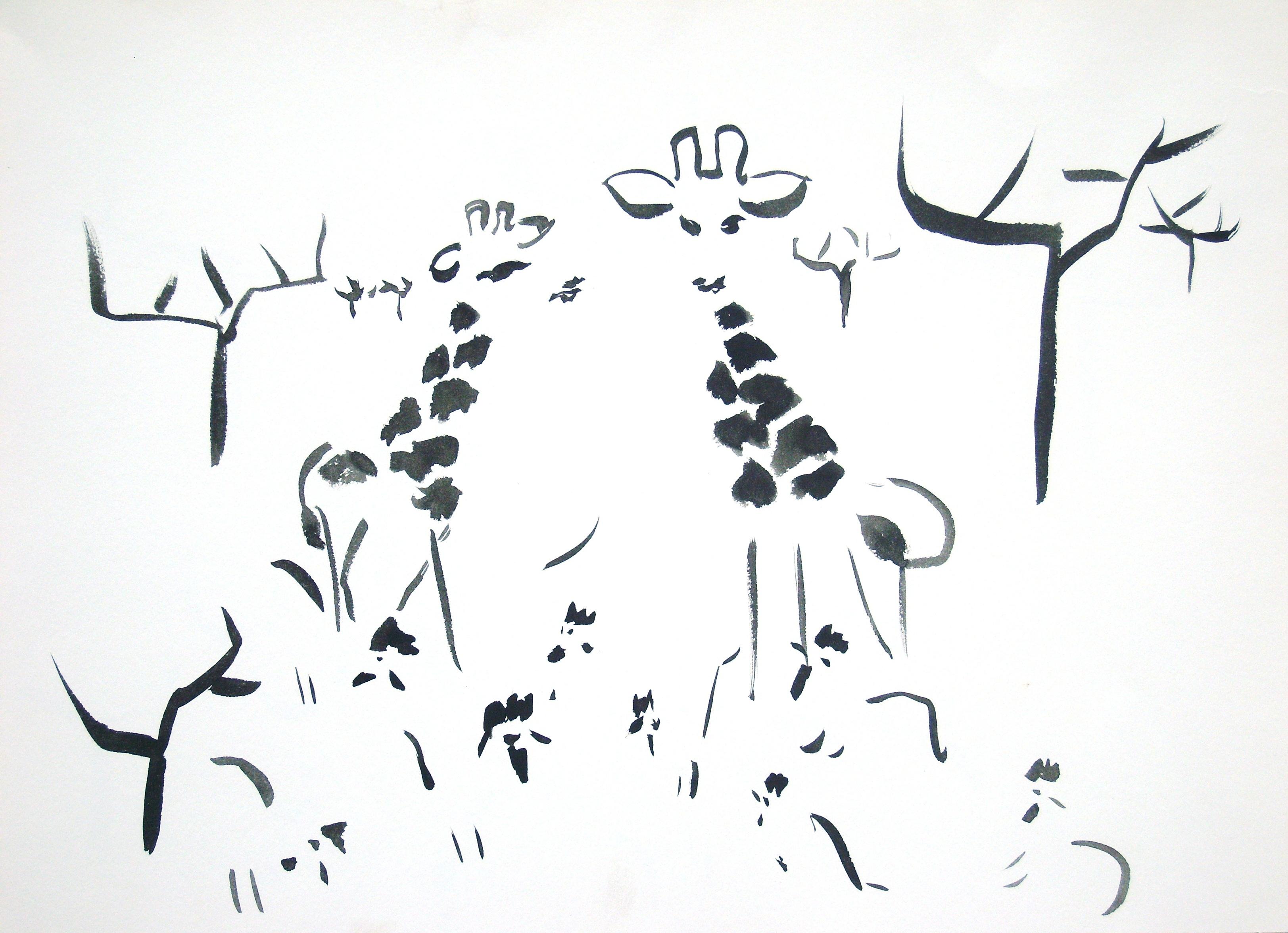 Rachmaninov in Black ink